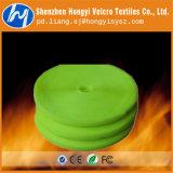 Nylon/ Polyester Hook & Loop Velcro Tape in Light Green Color