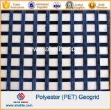 Polyester Geogrid Coated with Asphalt Bitument PVC SBR