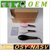 2016 New Items Ceramic Electric Nasv Hair Straightener Brush LCD