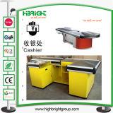 Cashier Desk Checkout Counter for Supermarket