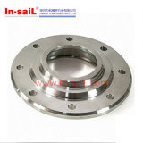 Stainless Steel Welded Vacuum Pipes Fittings Flange with Bolt Hole