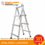 4 Steps Welded Ladder Walking Ladder Aluminum Ladder
