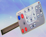 12mm Tactile Metal Dome PC Overlay Membrane Switch Keyboard
