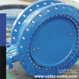 Vulcanized Rubber Linded Cast Steel&Cast Iron A216 Wcb&Gg25 Flanged Butterfly Valve
