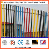 "High Quality ""W"" ""D"" Type Powder Coating Palisade Fence"