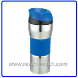 Autoseal Mug, Car Mug, Stainless Steel Travel Mug (R-2296)