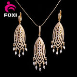 China Jewelry Wholesale Pure Gold Plated Big Costume Jewelry Sets