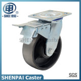 "6"" Cast Iron Swivel Locking Caster Wheel"