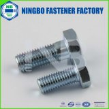 ANSI/ASTM/ASME Hex Bolts (WITHOUT WASHER FACE) A307 Gr. a Cr+3 Zinc Plated