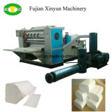 5 Lines High Speed V Fold Hand Towel Paper Embossing Machine