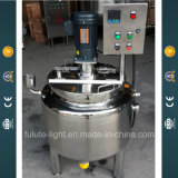 Stainless Steel Electric Heating Hot Sauces Mixing Kettle