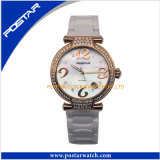 Fasionable Quartz Watch with Stones Fast Delivery