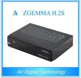 Full HD PVR 3D Zgemma H. 2s with Twin DVB-S2 Satellite Receiver Linux E2 TV Box