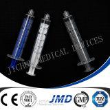 3 Part Luer Lock Plastic Syringe