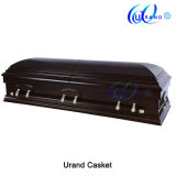 Matt Gloss Arched Design Velvet Local Couch Coffin and Casket