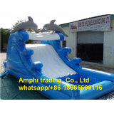 Best Pool Square Inflatable Swimming Pool with Slide for Kids
