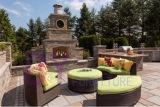 by-477 Garden Rattan Sofa Wicker Outdoor Furniture Liquidation