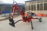 China Ce Approved Factory Direct Supply Small Towable Backhoe