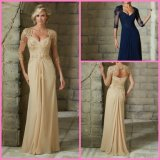 Cap Sleeves Mother Party Prom Formal Gown 2016 Bridesmaid Dresses Z4033