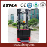 Ltma 1.2 Ton Mini Electric Pallet Stacker with Ce Certificate