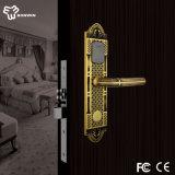 Best Price for Electronic Antique Brass Door Lock with Handles