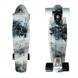 22inch PP Mini Skateboard Cruiser Complete Skateboards Banana Skateboard Black Element-10