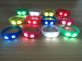 Fashion Silicone Glowing Shine LED Light Bracelet