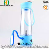 Multifunctional 350ml Plastic Vortex Juice Bottle (HDP-0699)