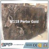 Portor Gold Color Marble Floor Tile/Wall Tile/Slab/Kitchen Top/Vanity