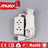 Double Electric Extension Socket with Grounding