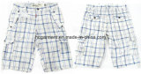 Casual Leisure Lattice Cotton Cargo Jogger Washing Pants for Man