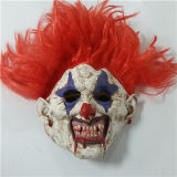 Scary Overhead Clown Joker Mask Fancy Dress Costume Mask