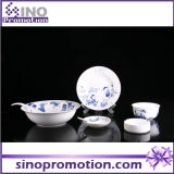 Porcelain Dinner Set Blue and White Kitchenware