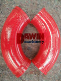 Dn125 Concrete Pump Delivery Pipe Elbow (wear-resistant) with Heat Treatment