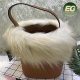 New Design Fur Lady Bag Woman Bucket Bag Girl Shoulder Bag From China Factory Sh190