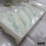 6mm Green Translucent Artificial Solid Surface Stone (M17090112)