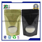 Plastic Stand up Pouch with Clear Window