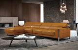 Modern Customized Hotel Lobby Furniture Leather Sofa Set (L078)