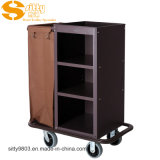 Knocked Down Hotel Maid Cart Housekeeping For Cleaning SITTY 997802