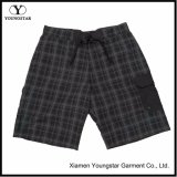 Extra Long Plaid Boardshort Mens Swim Shorts
