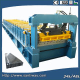 Glazed Tile Roof Cold Roll Forming Machine