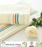 100% Combed Cotton Terry Towel with Satinborder