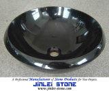 Polished Shanxi Black Round Basin