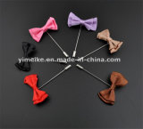 High Quality Mens Bows Lapel Pins Handmade Dress Shirt Corsage