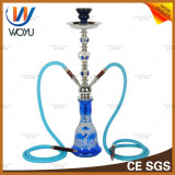 Shisha Neptune Blue Glass Pipes Water Cut Tobacco Hookah