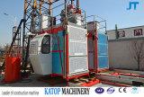 Sc200/200 Double Cages Construction Hoist for Export
