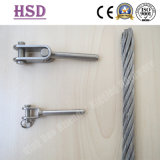 Swage Jaw, Stainless Steel Wire Rope. Fastener, Clable, Rigging Hardware, Marin Hardware