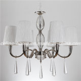 Modern Pendant Lighting Chandelier with Fabric Shade (SL2067-6)