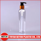 Empty 250ml Round Plastic Pet Bottle for Body Wash (ZY01-B062)