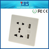 High Quality Universal Wall Outlet USB Wall Switches Socket